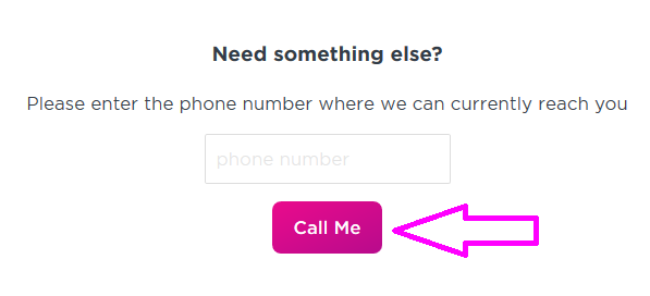 lyft customer service call me button image
