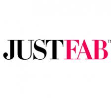 justfab logo image