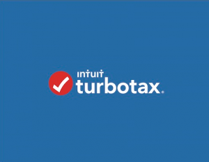 turbotax logo image for customer service number help page